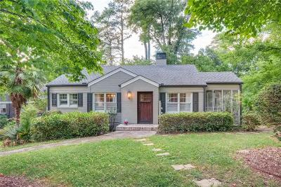 Peachtree Hills Single Family Home For Sale: 2100 Fairhaven Circle NE