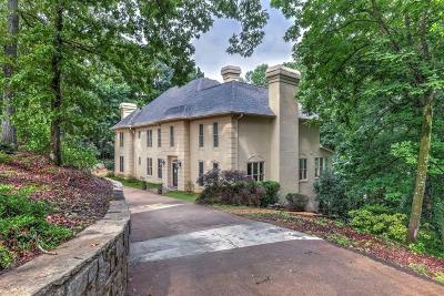 Johns Creek Single Family Home For Sale: 9300 Riverclub Parkway