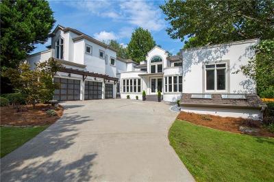 Sandy Springs Single Family Home For Sale: 255 Northland Ridge Trail NE