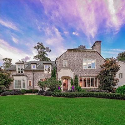 Atlanta GA Single Family Home For Sale: $2,250,000
