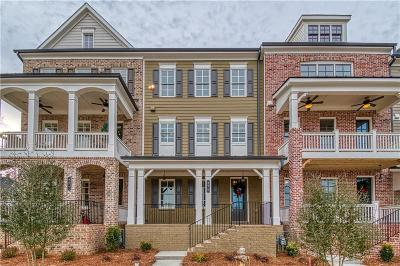 Marietta Condo/Townhouse For Sale: Lot 8 Cherokee Street #8