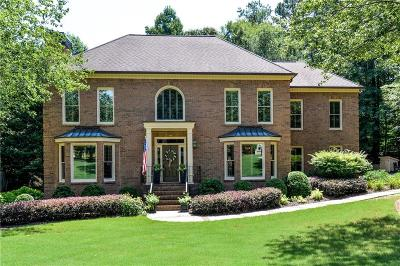 Roswell Single Family Home For Sale: 5930 Plantation Drive