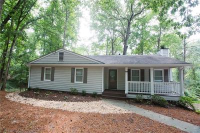 Roswell Single Family Home For Sale: 119 Cedar Street