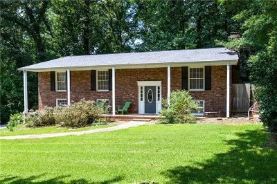 Marietta Single Family Home For Sale: 3972 Ebenezer Road