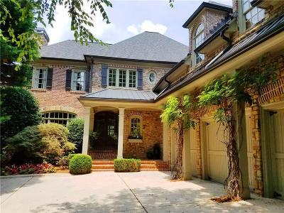 Marietta Single Family Home For Sale: 4565 Paper Mill Road SE