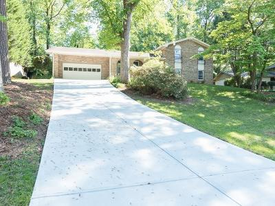 Atlanta Single Family Home For Sale: 2587 W Fontainebleau Court
