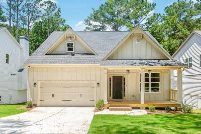 Acworth Single Family Home For Sale: 4405 Westside Drive