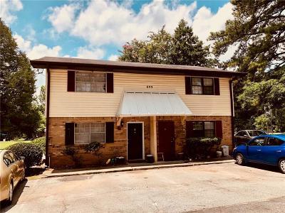 Norcross Condo/Townhouse For Sale: 899 Six Oaks Circle #B