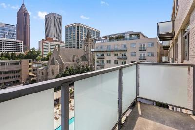 Condo/Townhouse For Sale: 805 Peachtree Street NE #504