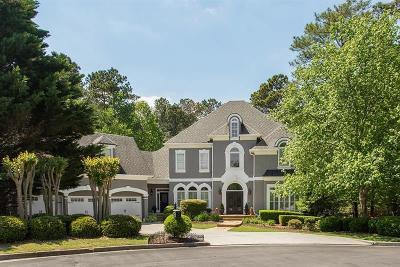 Alpharetta Single Family Home For Sale: 3800 Falls Landing Drive