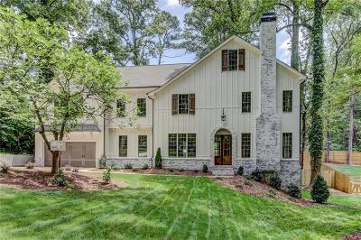 Single Family Home For Sale: 3389 Pretty Branch Drive SE