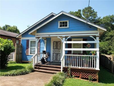 Atlanta Single Family Home For Sale: 998 Sparks Street SW #4