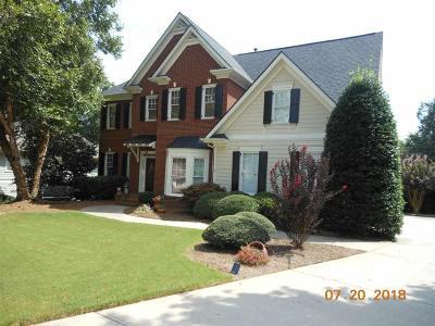 Douglasville Single Family Home For Sale: 9873 Milton Court