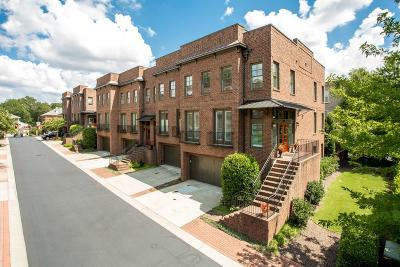 Roswell Condo/Townhouse For Sale: 460 Canton Walk