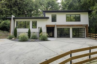 Atlanta Single Family Home For Sale: 3322 Pinestream Road NW