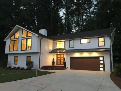 Atlanta Single Family Home For Sale: 3796 Briarcliff Road NE