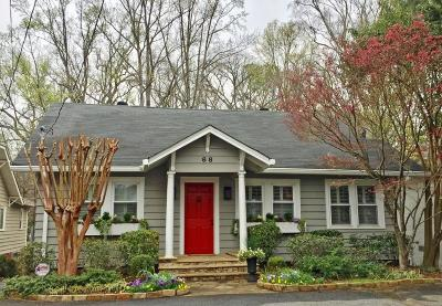 Peachtree Hills Single Family Home For Sale: 68 Peachtree Hills Avenue NE