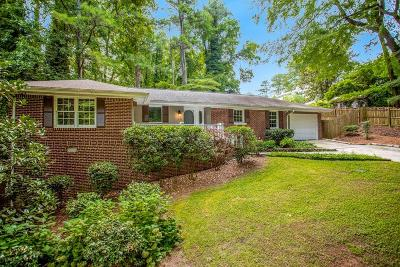 Atlanta GA Single Family Home For Sale: $395,000