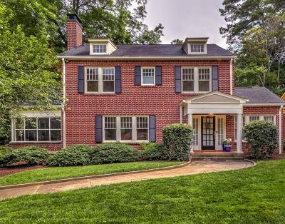 Druid Hills Single Family Home For Sale: 1401 Harvard Road NE