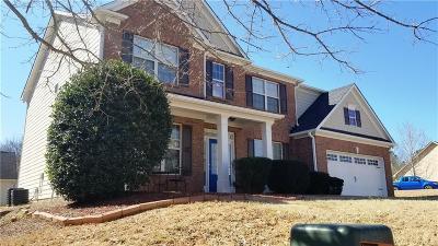 Auburn Single Family Home For Sale: 678 York View Drive