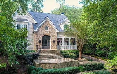 Atlanta GA Single Family Home For Sale: $2,299,000