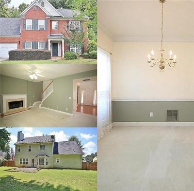 Lawrenceville Single Family Home For Sale: 1550 Hampton Hollow Drive