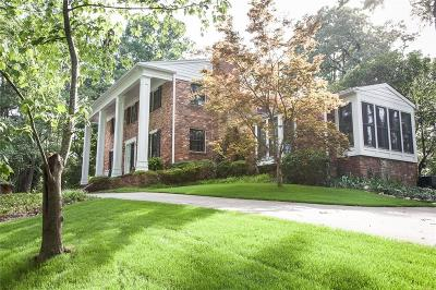Sandy Springs Single Family Home For Sale: 1055 Heards Ferry Road