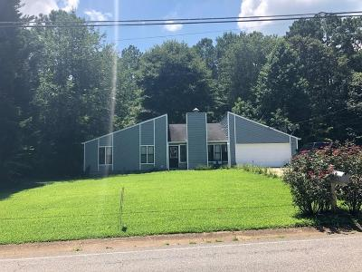 Acworth Single Family Home For Sale: 6821 E Galts Ferry Rd Road
