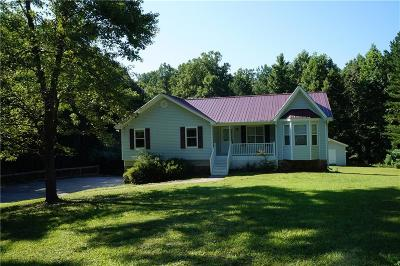 White Single Family Home For Sale: 420 Knox Bridge Highway