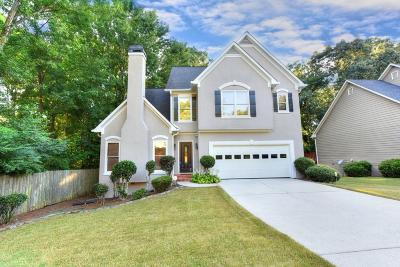 Roswell  Single Family Home For Sale: 3115 Ivey Oaks Lane