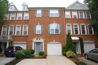 Peachtree Corners, Norcross Condo/Townhouse For Sale: 3232 Trace Views Court
