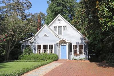 Single Family Home For Sale: 201 Huntington Rd Road NE