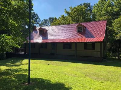 White Single Family Home For Sale: 69 Old Mill Road NE