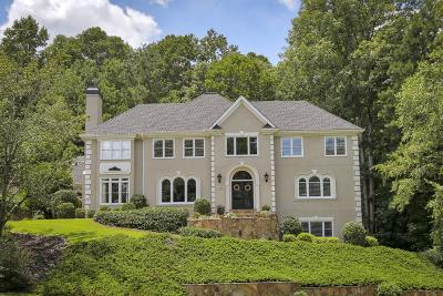 Roswell Single Family Home For Sale: 1000 Hedgerose Lane