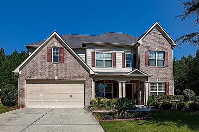 Powder Springs Single Family Home For Sale: 4945 Creekside Lane