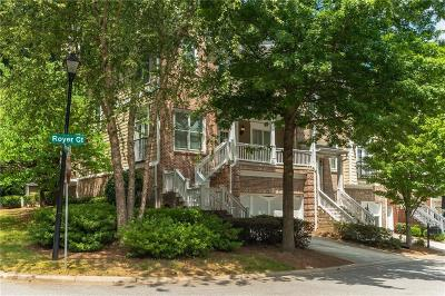 Sandy Springs Condo/Townhouse For Sale: 658 Royer Court