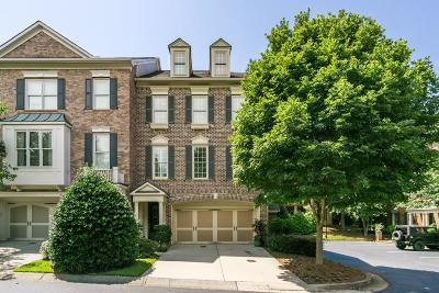 Alpharetta Condo/Townhouse For Sale: 1820 Adagio Drive