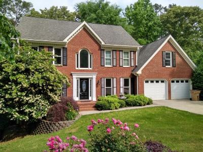 Kennesaw Single Family Home For Sale: 3444 Laurel Green Court NW