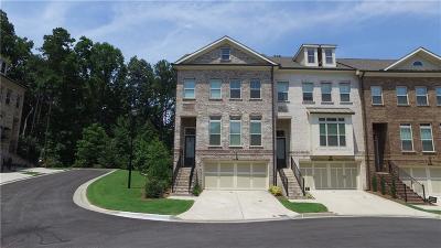 Alpharetta Condo/Townhouse For Sale: 1040 Township Square