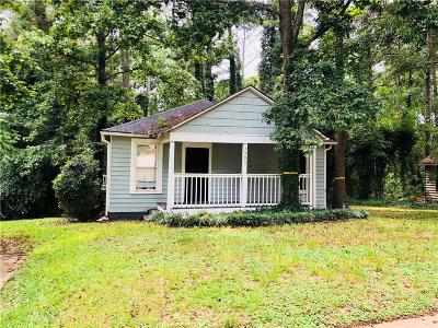 Single Family Home For Sale: 1593 Terry Mill Road SE