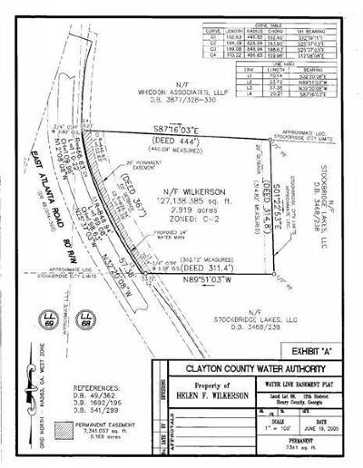 Henry County Commercial For Sale: 332 E Atlanta Road