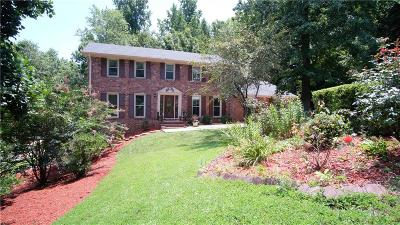 Dunwoody Single Family Home For Sale: 2265 Delverton Drive