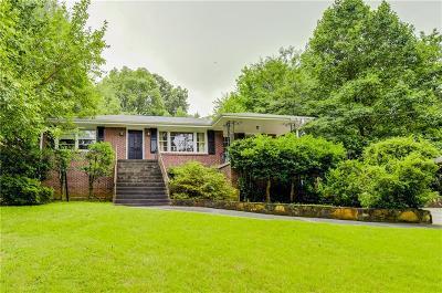 Atlanta Single Family Home For Sale: 2399 Lavista Road NE