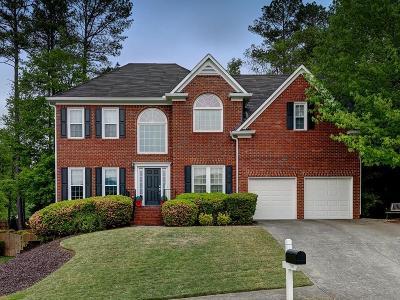 Marietta Single Family Home For Sale: 3190 Vickery Drive NE