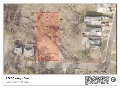Residential Lots & Land For Sale: 2547 Etheridge Drive NW