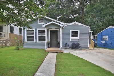 Atlanta Single Family Home For Sale: 99 Dearborn Street SE