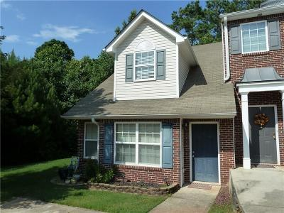 Newnan Condo/Townhouse For Sale: 177 Chastain Way