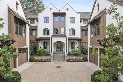 Atlanta GA Condo/Townhouse For Sale: $2,300,000