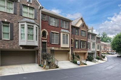 Sandy Springs Condo/Townhouse For Sale: 5565 Julian Place