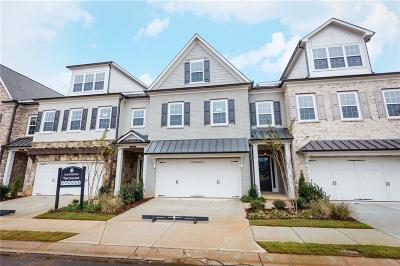 Roswell Condo/Townhouse For Sale: 4452 Huffman Drive